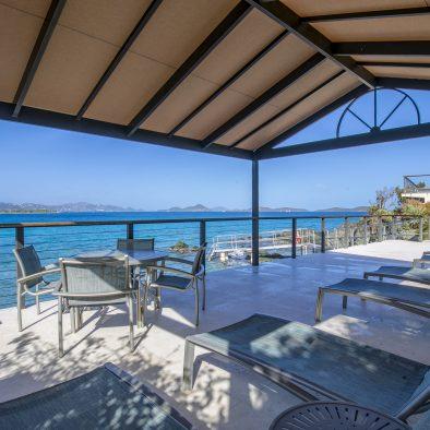 Oceanfront Shade Deck