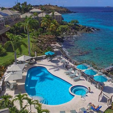 Oceanfront Pool and Jacuzzi